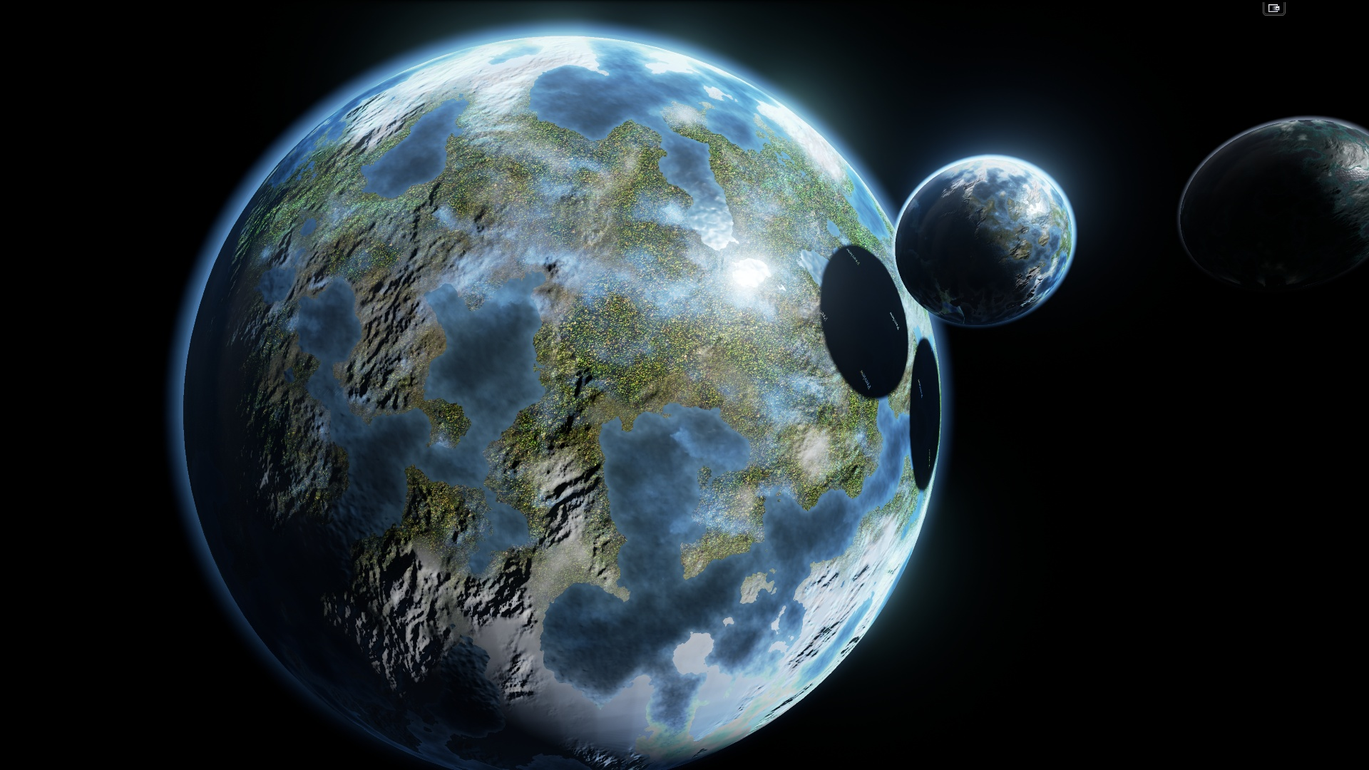 other planets like earth - HD1920×1080